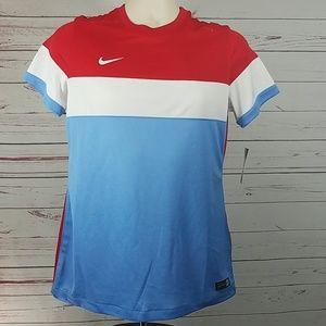 Nike Womens Soccer Jersey Short Sleeve Shirt Med